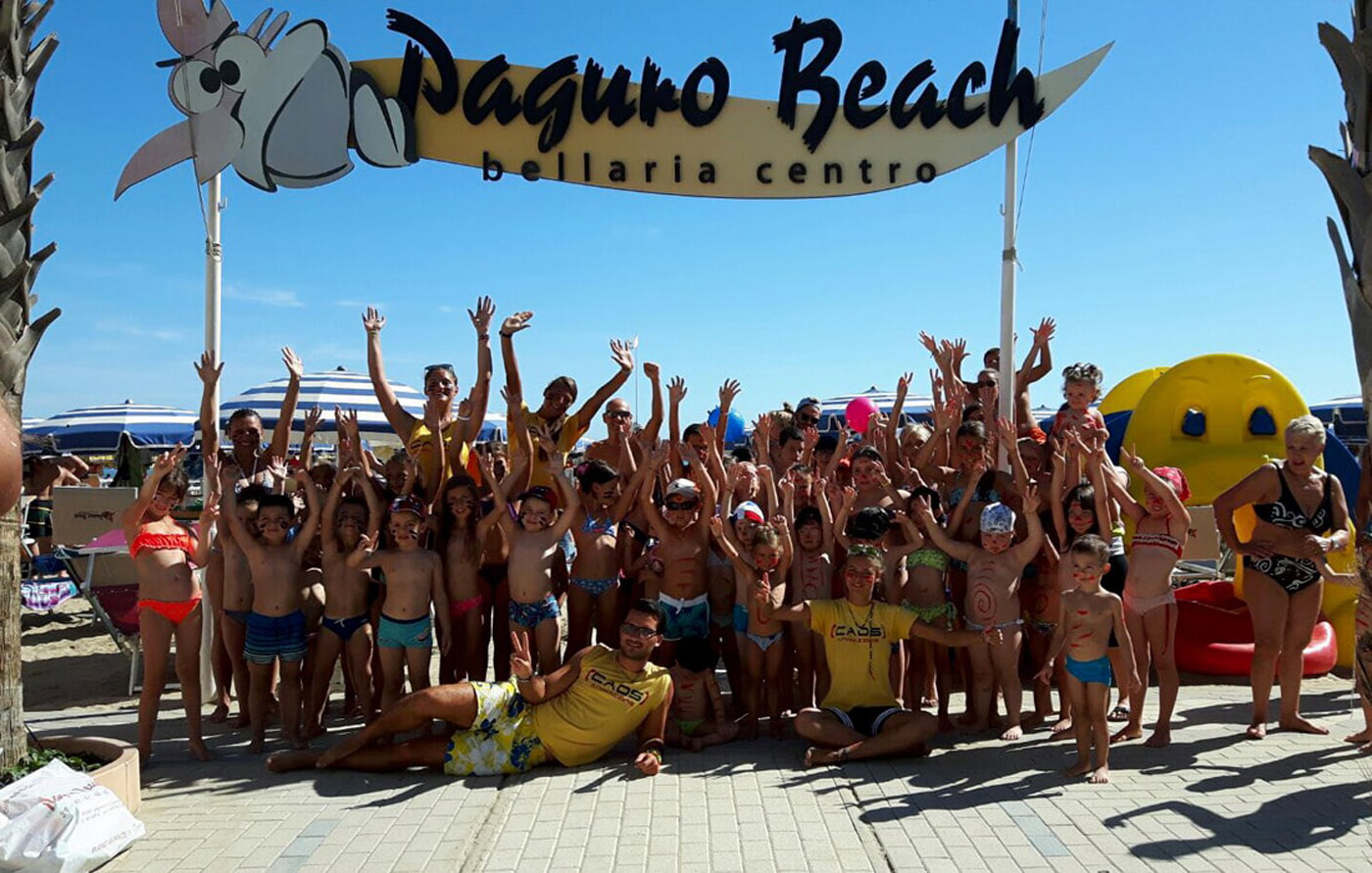 Spiaggia Paguro Beach Bellaria Igea Marina | Hotel Titanus
